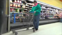 Walmart Pranks: Climbing into peoples carts! Police come!