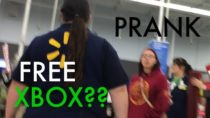 FREE XBOX AT WALMART Intercom Prank